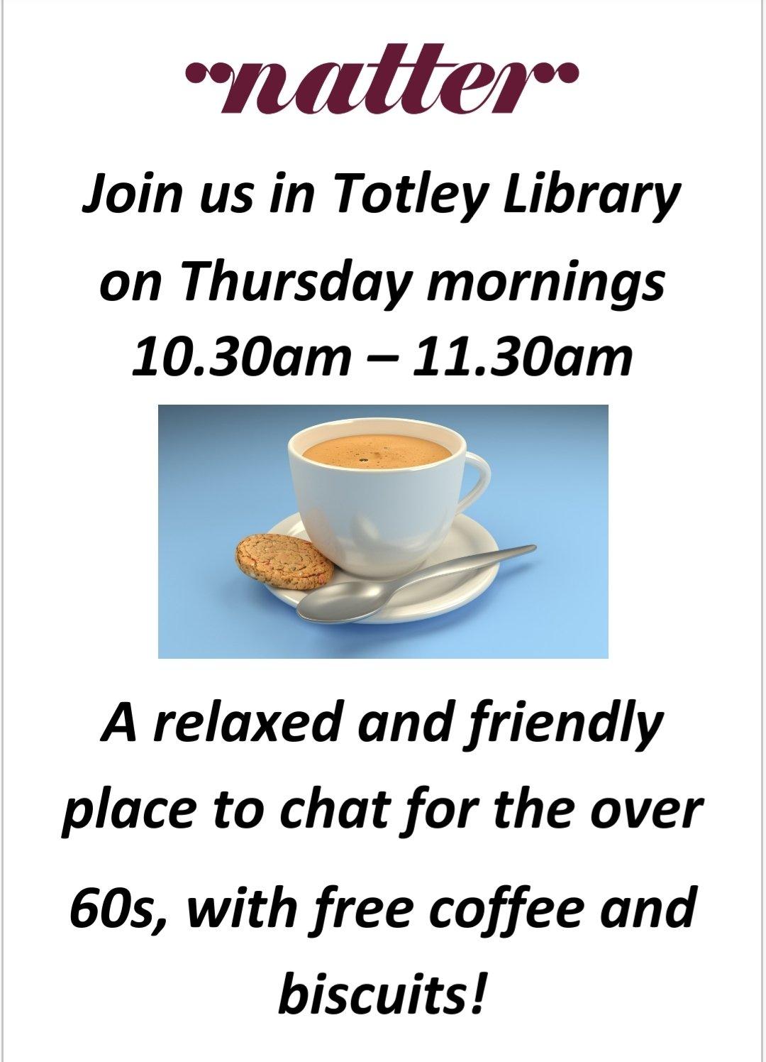 Natter at Totley Library